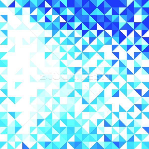 Résumé géométrique texture fond cadre art Photo stock © ESSL