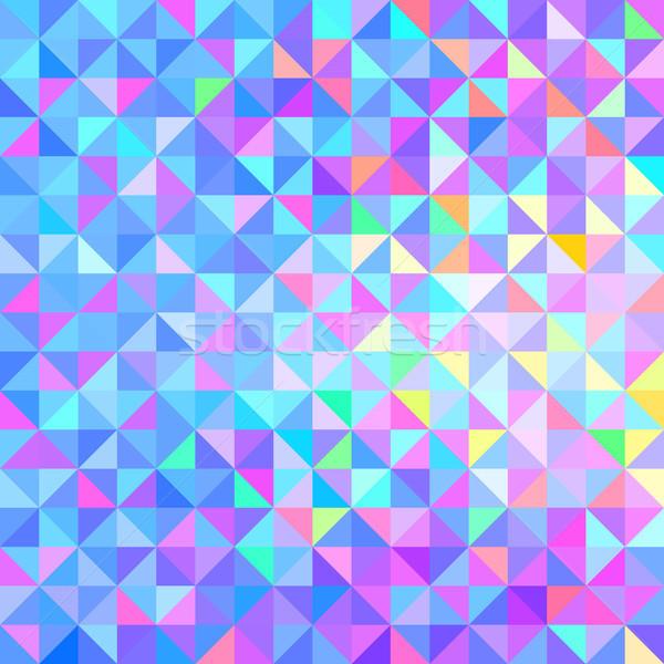 Résumé vecteur géométrique couleur bébé web Photo stock © ESSL