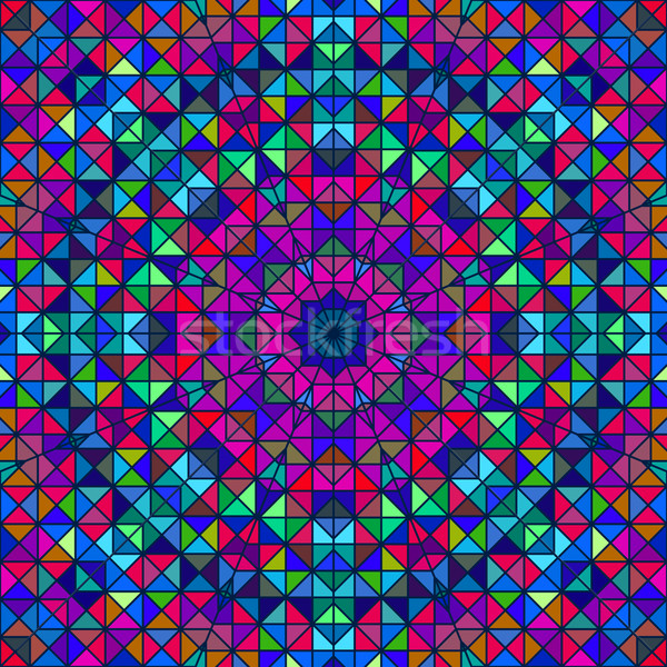 Abstract Colorful Digital Decorative Flower Stock photo © ESSL