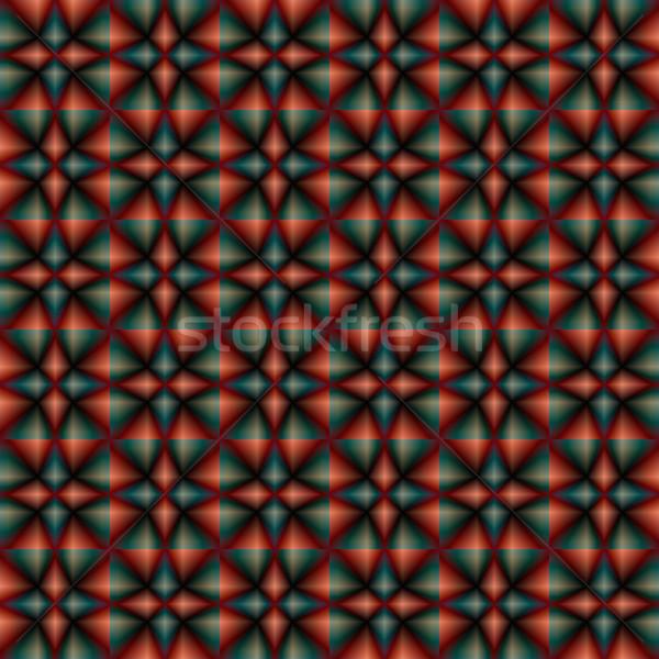 Abstract Seamless Geometric Mosaic Pattern. Blurred Vector Elem Stock photo © ESSL