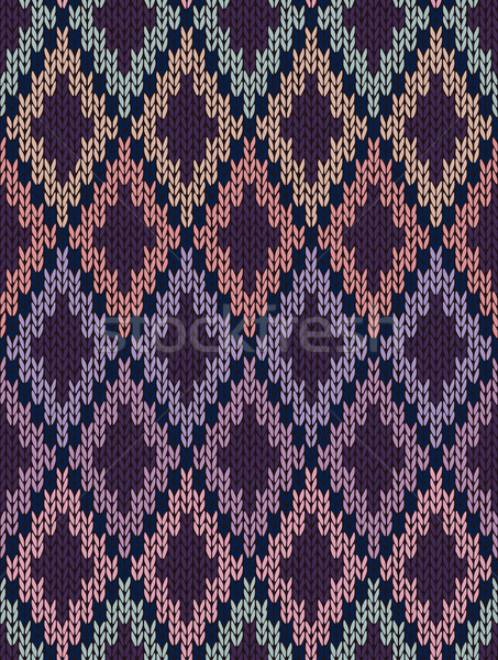 Seamless Light Baby Textile Background of Color Knitted Wool Gin Stock photo © ESSL