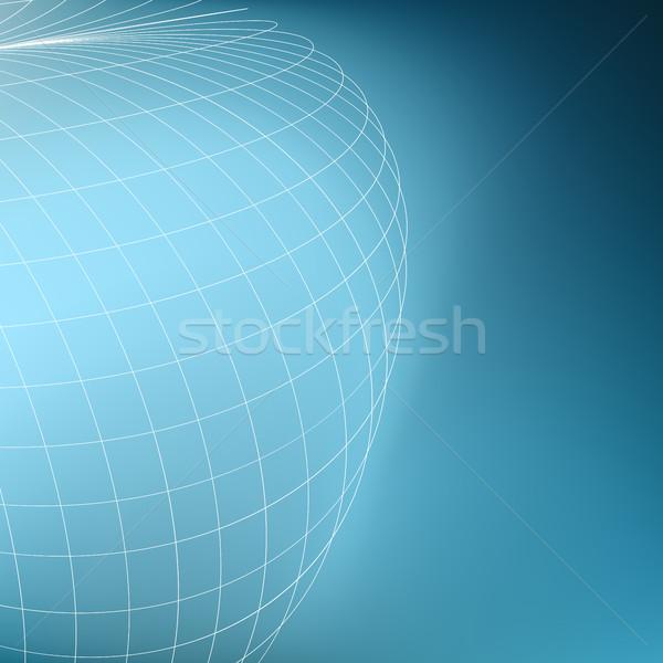 抽象的な 幾何学的な 世界中 行 観点 ストックフォト © ESSL
