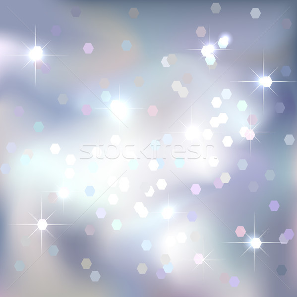 Abstract background. White color sky background. Magical New Year, Christmas event style. Stock photo © ESSL