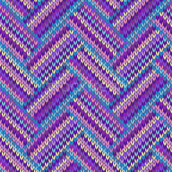Photo stock: Laine · ornement · texture · tissu · couleur