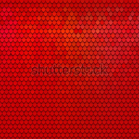 Abstract scale pattern. Roof tiles background. Color squama texture Stock photo © ESSL
