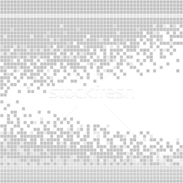 Absztrakt mértani háttér keret művészet hálózat Stock fotó © ESSL