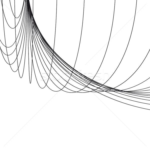 抽象的な 幾何学的な 行 観点 建設 ストックフォト © ESSL