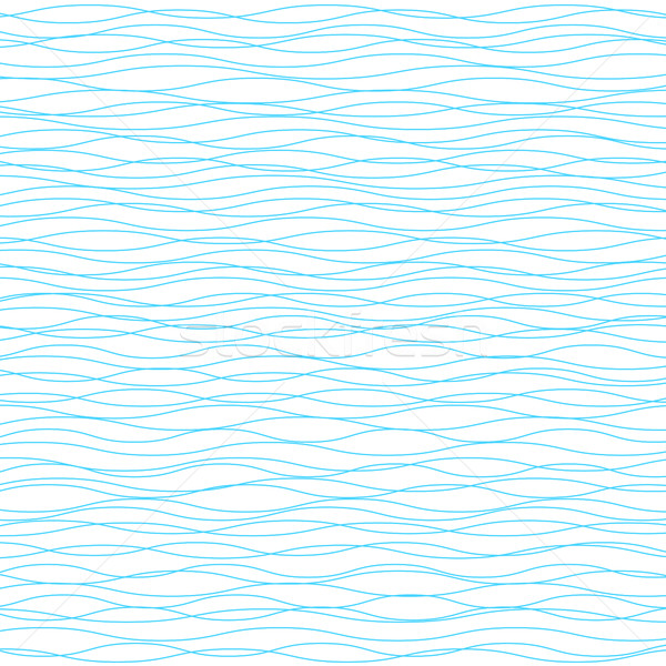 Ondulés vecteur lumière horizontal vague rayé Photo stock © ESSL