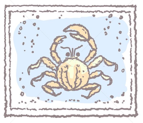 Crab in frame Stock photo © ESSL