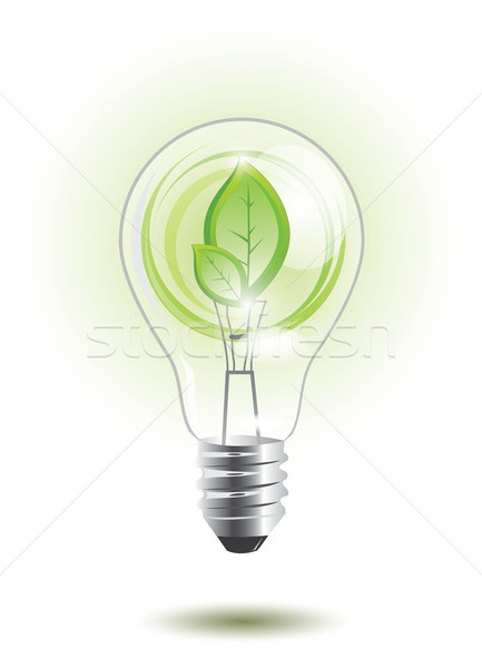 Sustainable lightbulb Stock photo © evetodew