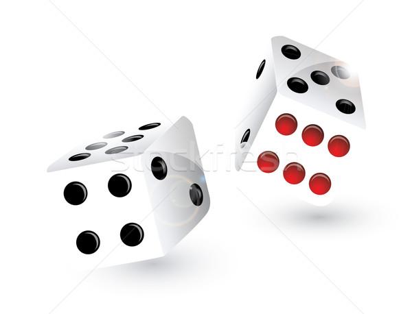 Rolling dice Stock photo © evetodew