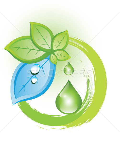 Eco symbol Stock photo © evetodew