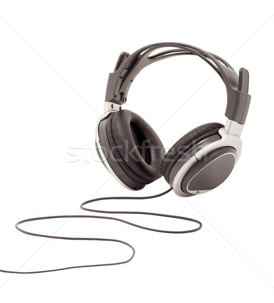 Stock photo: Headphones