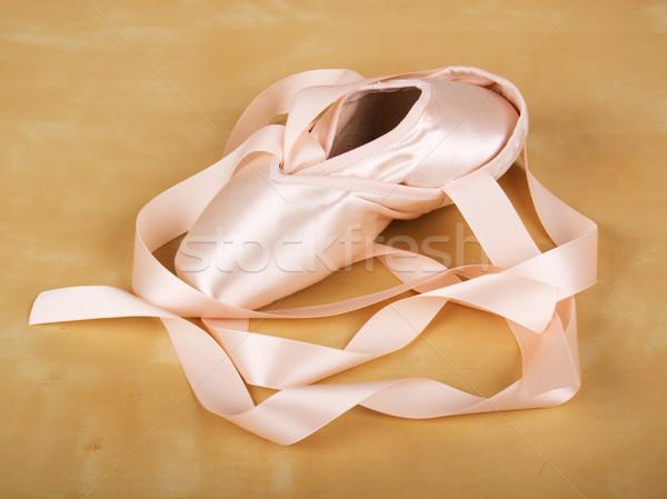 ballet shoes Stock photo © evgenyatamanenko