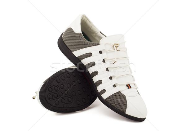 Nuovo moderno sport scarpe uomini maschio Foto d'archivio © evgenyatamanenko
