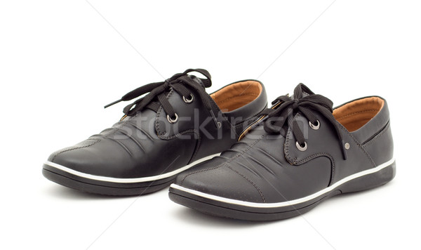 new black boots men's fashion Stock photo © evgenyatamanenko