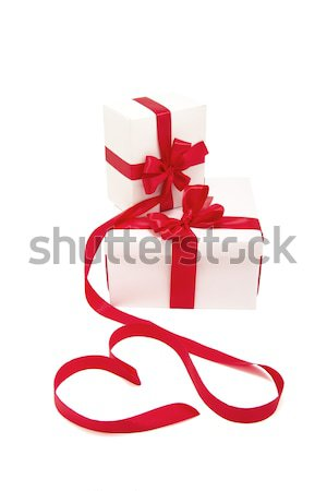 Christmas gifts Stock photo © evgenyatamanenko