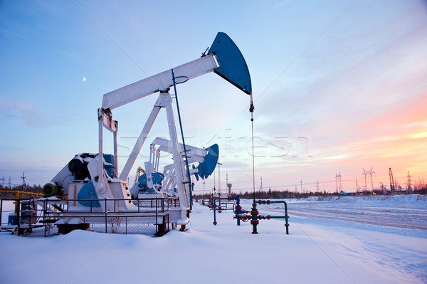pumpjack Stock photo © EvgenyBashta