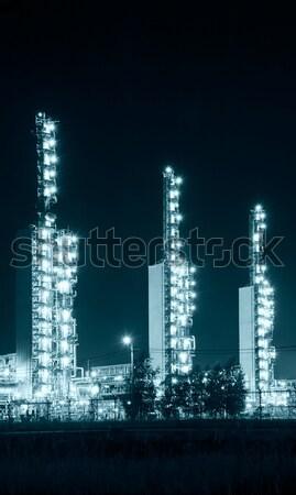 Grangemouth Refinery at Night Stock photo © EvgenyBashta