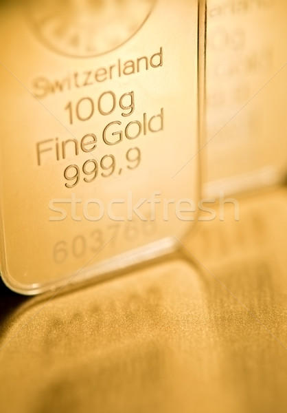 gold ingot  background Stock photo © EvgenyBashta