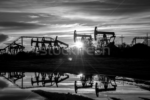 Oil pumps. Stock photo © EvgenyBashta