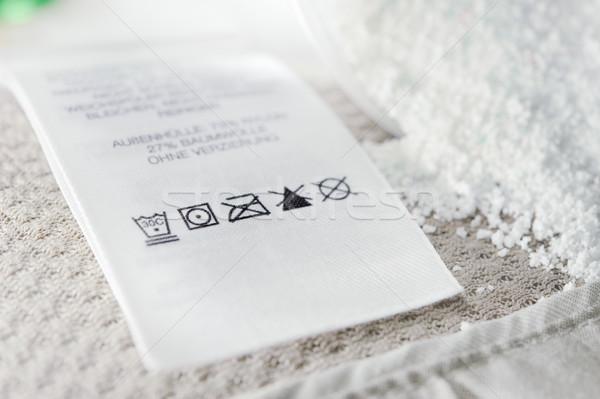 洗濯 ケア シンボル 表示 洗濯 ストックフォト © EvgenyBashta