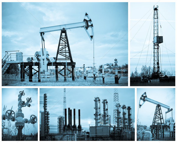Oil industry. Stock photo © EvgenyBashta