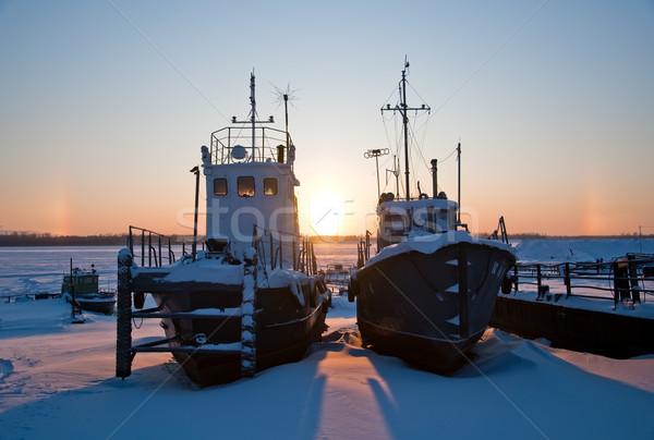 await  season of navigation. Stock photo © EvgenyBashta