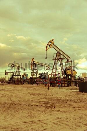 Oil pump. Stock photo © EvgenyBashta