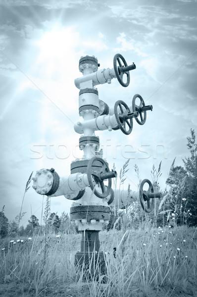 Wellhead. Stock photo © EvgenyBashta