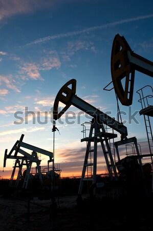 нефть насос промышленности энергии машина топлива Сток-фото © EvgenyBashta