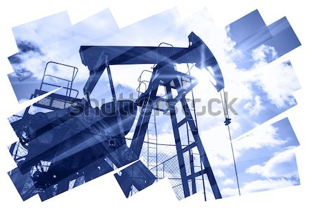 насос аннотация нефть газ промышленности фото Сток-фото © EvgenyBashta