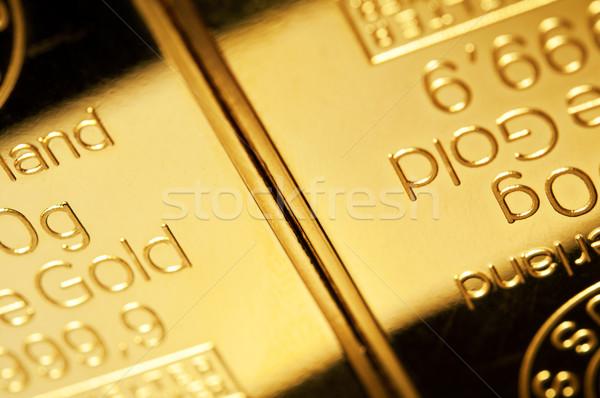 Arany közelkép siker minta stock pénzügyi Stock fotó © EvgenyBashta