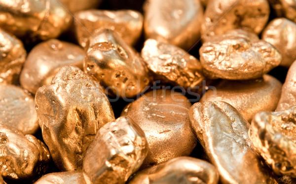 gold nuggets Stock photo © EvgenyBashta