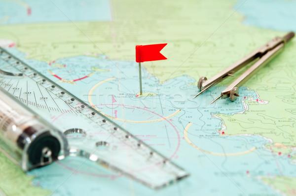Navigation supplies Stock photo © EvgenyBashta