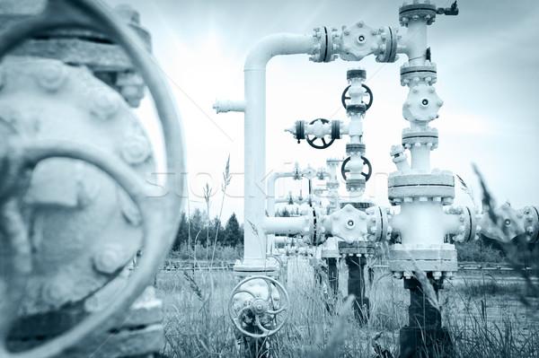 Oilfield. Stock photo © EvgenyBashta