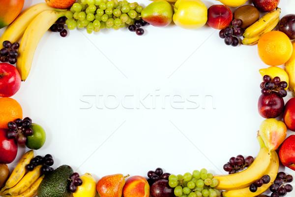 fruits frame Stock photo © EwaStudio