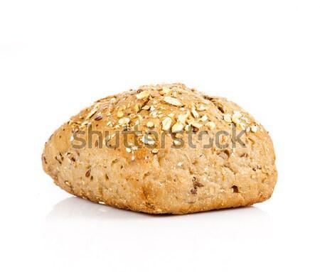 Bread on a white background. delicious buns  isolated on white Stock photo © EwaStudio