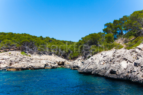 Majorca Island. Canyon and coast Stock photo © EwaStudio