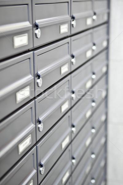 metallic mailboxes. Stock photo © EwaStudio