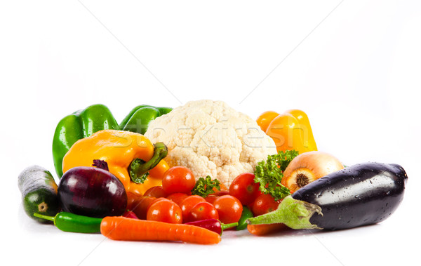 vegetables isolated on a white background Stock photo © EwaStudio