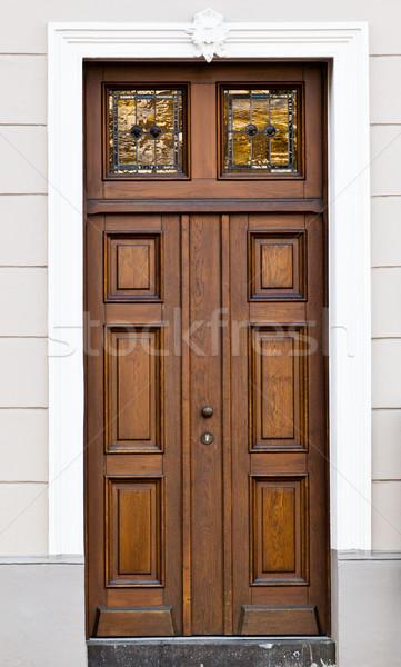 wood old door.  Stock photo © EwaStudio