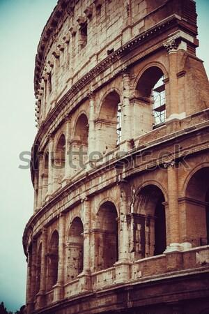 Colosseum in Rome Stock photo © EwaStudio