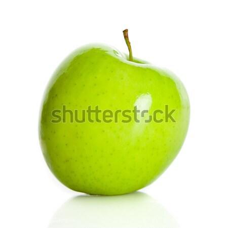 Verde maçã isolado branco comida luz Foto stock © EwaStudio