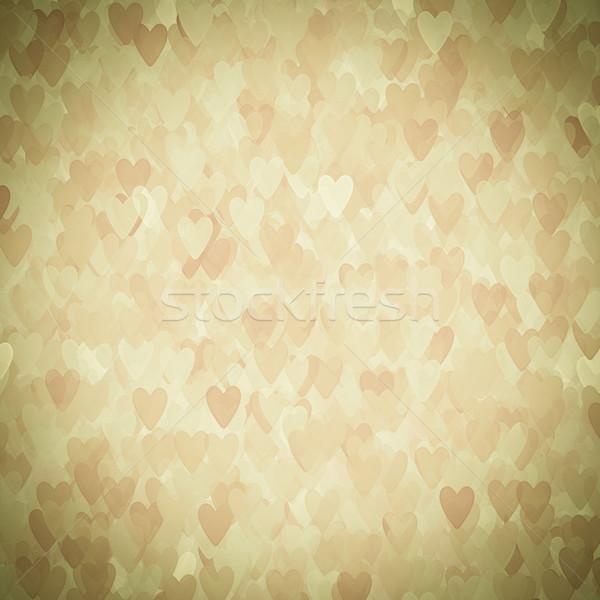 Dia dos namorados corações sem costura não descrição papel Foto stock © EwaStudio