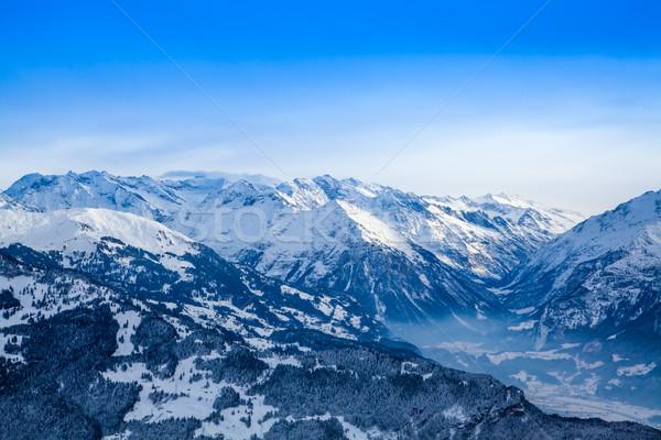 Winter mountains.   Stock photo © EwaStudio