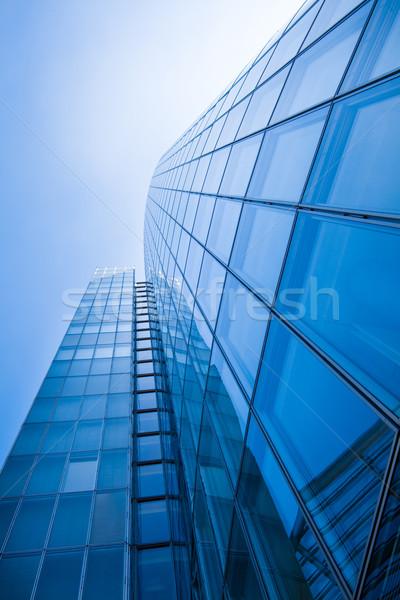 офисных зданий современных стекла Небоскребы небе Сток-фото © EwaStudio