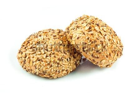 Pão diferente sementes comida girassol Foto stock © EwaStudio