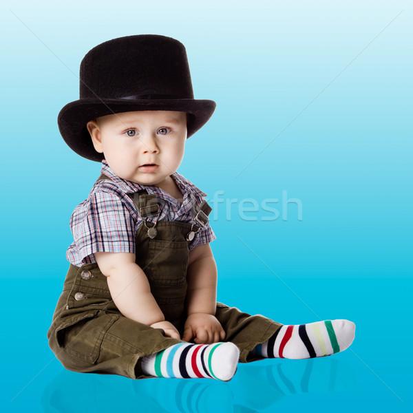 赤ちゃん 少年 顔 髪 スタジオ 人 ストックフォト © EwaStudio