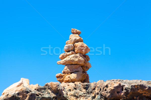 Balancing  stones Stock photo © EwaStudio